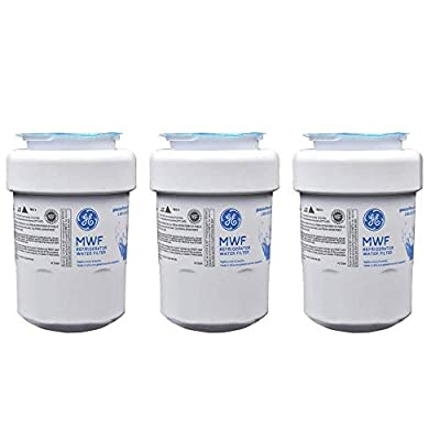 3PACK Genuine GE MWF MWFP 46-9991 GWF HWF WF28 Smart Water Fridge Water Filter New