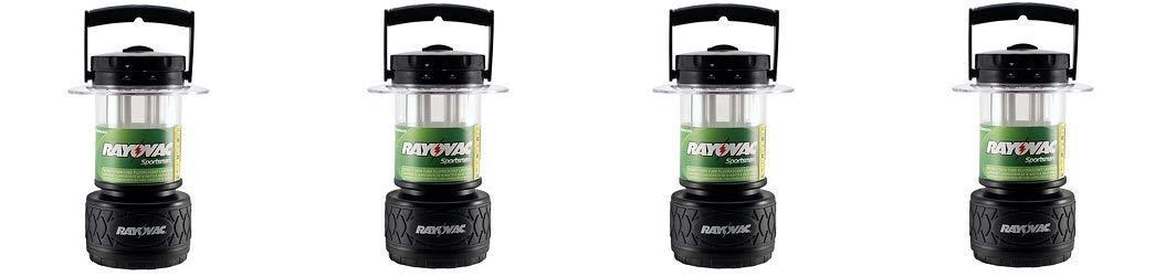 Rayovac Sportsman 300 Lumen 8D Twin Tube Fluorescent Lantern (SP8DTP4) (4-(Pack))