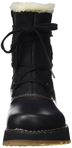 Art Women's Heathrow Ankle Boots Black (Heritage-wax Black-night) oWtGVN8aw