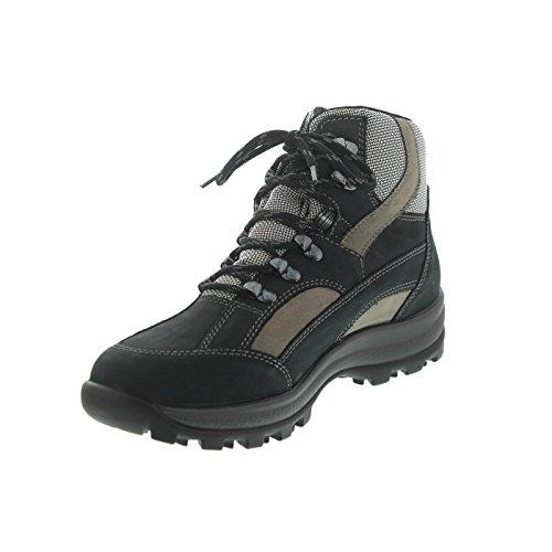 Waldläufer Blau 471900 Grau Donna Grigio Da 911 Kombi Escursionismo Scarpe 307 Holly r1rvU