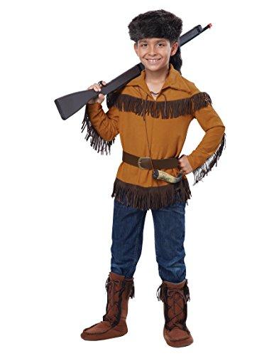 California Costumes Frontier Boy/Davy Crockett Boy Costume,