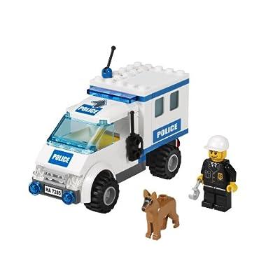 LEGO Police Dog Unit 7285: Toys & Games