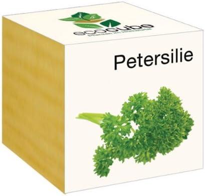 Ecocube Petersilie im Holzw/ürfel