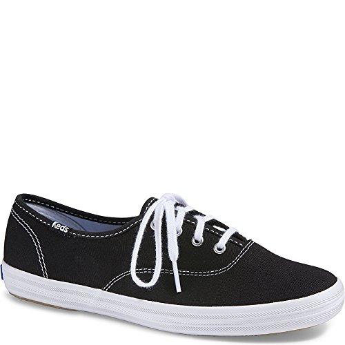 Keds Women's, Champion Lace up Shoe Black/White 6 S