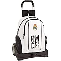 Real Madrid CF Mochila con Carro Ruedas Evolution