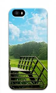 Iphone 5 5s 3D PC Hard Shell Case Nature Overpass by Sallylotus