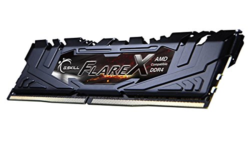 G.SKILL Flare X Series 16GB (2 x 8GB) 288-Pin DDR4 SDRAM DDR4 3200 (PC4 25600) AMD X370 Memory Model F4-3200C14D-16GFX