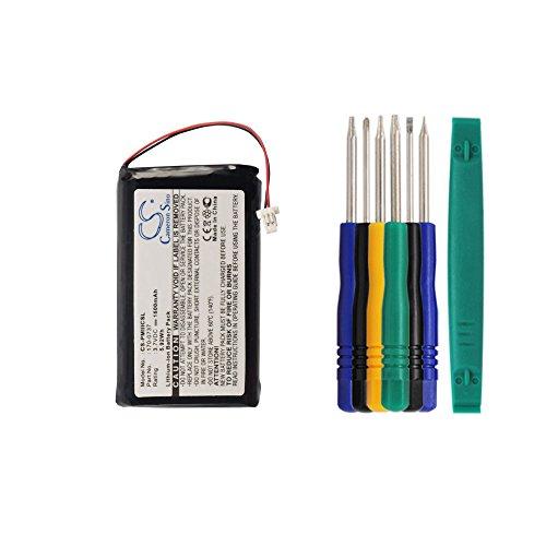 Cameron sino 1600mAh Li-ion Battery 170-0737 Replacement For Palm PalmOne III IIIc IIIe IIIxe Viic Handheld PDA With Tools Kit