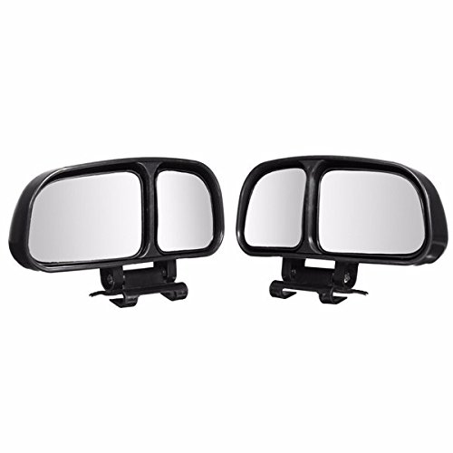 1 Pair Car Adjustable Wide Angle Blind Spot Rear View Mirrors For Universal Car