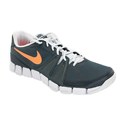 Tr Leather (Nike Men's Flex Show TR 3 Cross Trainer (9.5, Classic Charcoal/Platinum/Total)