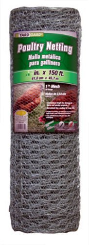 Mat Midwest 308427B 36-Inch-by-150-Foot 1-Inch Mesh 20-Gauge Hexagonal Poultry Netting (20 Poultry Gauge Netting)