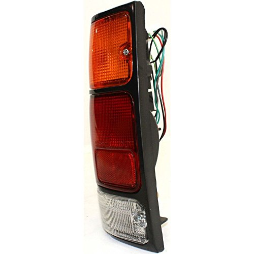 (Diften 166-C2449-X01 - New Tail Light Taillight Taillamp Brakelight Lamp Driver Left Side LH Hand Rodeo)
