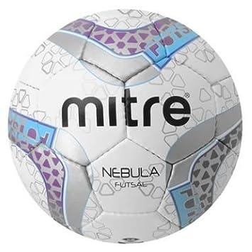 Mitre Nebula Futsal - Balón de Fútbol, Talla 4, Cosido: Amazon.es ...