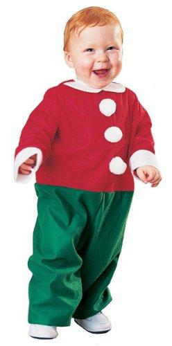 Santa's Lil Helper Toddler Costumes (Rubie's Costume Co Santa's Lil' Helper Costume, Toddler, Toddler)