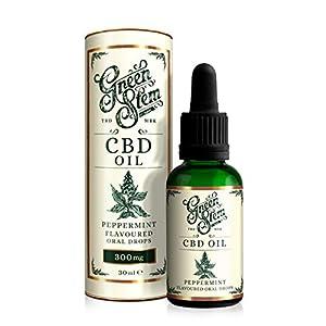 Green Stem Peppermint CBD Oil 300mg