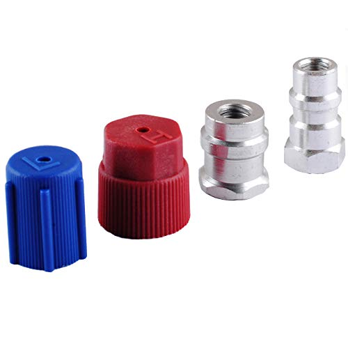 Retrofit R134a R12 - R12 to R134a Retrofit Kit, Fits A/C Pro Refrigerant, R12 to R134a Adapter