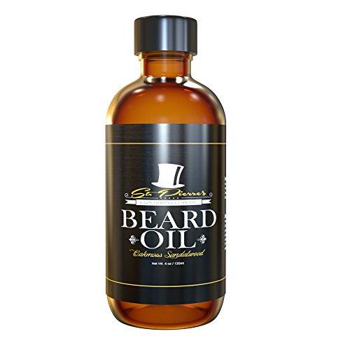 Best Sandalwood Beard Oil & Conditioner for Men - 4oz - Oakmoss Sandalwood