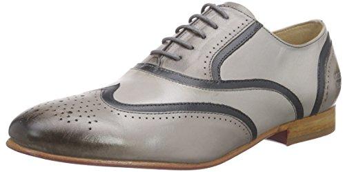 Cordones Zapatos Mujer amp;hamilton Gris De 38 Claro Sally Melvin Oxford 0av7qXt
