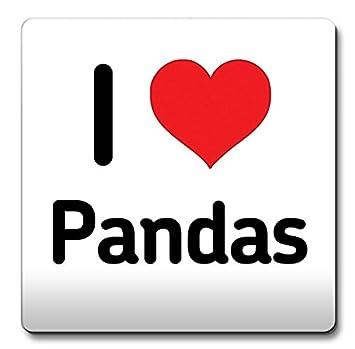 Amazon i love pandas coaster heart gift idea christmas funny i love pandas coaster heart gift idea christmas funny coffee negle Gallery