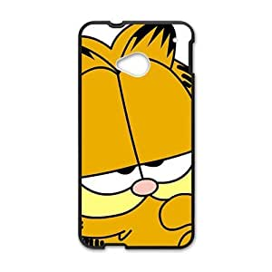 GKCB Unique Garfield durable Cell Phone Case for HTC One M7