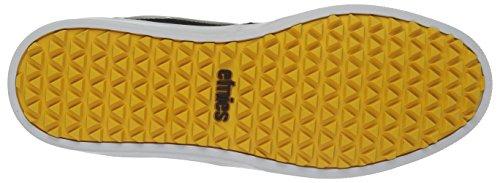 Etnies Thirty Two Jeremy Jones Schuh Jameson HTW Schwarz-Grau-Gelb Black/grey/yellow