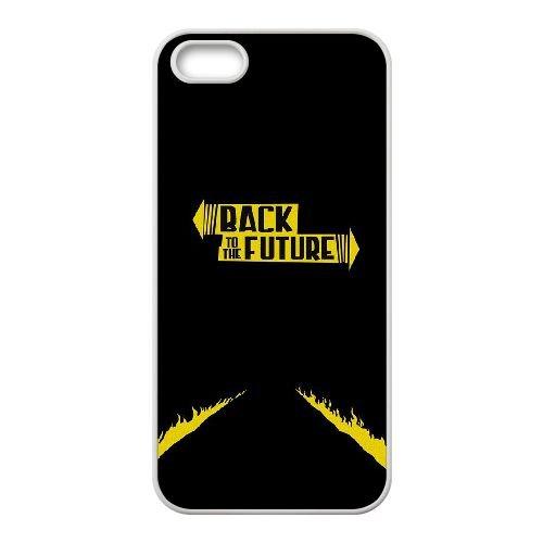 Back To The Future coque iPhone 4 4S Housse Blanc téléphone portable couverture de cas coque EBDOBCKCO11035