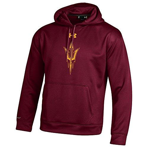 - Under Armour Arizona State Sun Devils Performance Hooded Sweatshirt Maroon - M