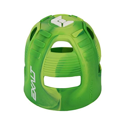 Exalt Paintball Tank Grip - 45-88ci - Lime Swirl