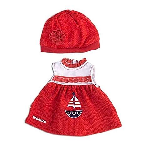 Amazon.es: FEBER NENUCO ROPITA Casual Vestido Rojo: Juguetes y juegos