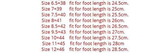 scarpe uomo casual in pelle mocassini autunno pelle primavera on guida di scamosciata 38~46 grande Fluores taglia mocassini vera slip Mocassini Brown uomo xq0wppTaZ