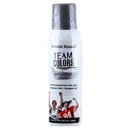 jerome russell Team Color Enemy, Screaming' Silver, 3.5 Ounce