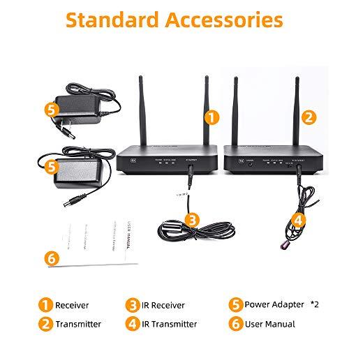 Hdmi Wireless Extender  Ansten 660ft   200m Wireless Av