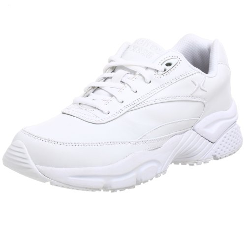 Apex Women's X826W Athletic Walking Shoe,White,8.5 WW US by Apex