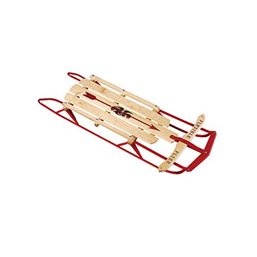 Paricon Flexible Flyer Wood Sled Maple by Paricon