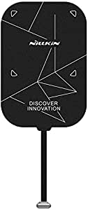 Nillkin Type C Wireless Charger Receiver for ipad - Qi Ultra Thin Magic Tag Wireless Charging Receiver Patch Module Chip for ipad Pro 12.9 inch 2020 4th Generation/ipad Pro 12.9 2018 3rd, Type C Long