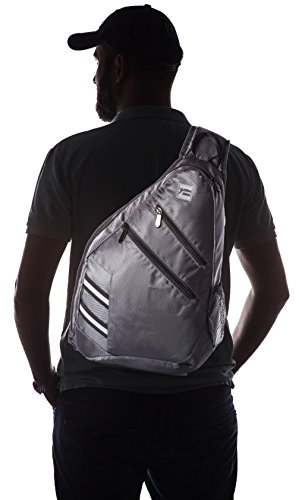 Sling Bag Crossbody Backpack Shoulder Bag - Travel Backpack Multipurpose Daypack for Men & Women
