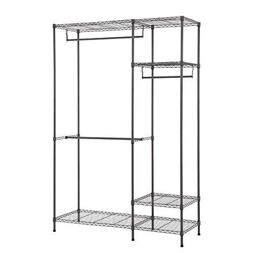 AppleLand Dropshipping Multi-Functional Garment Rack Closet Organizer Clothes Hanger Wardrobe Home Shelf Without Cover 47.25'' 17.72'' 70.87'' US - Quarkscm by AppleLand (Image #3)