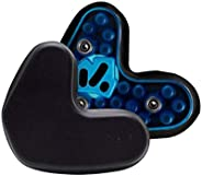 Schutt Football Helmet Inter-Link Replacement Jaw Pad Set - Includes Left and Right Pad