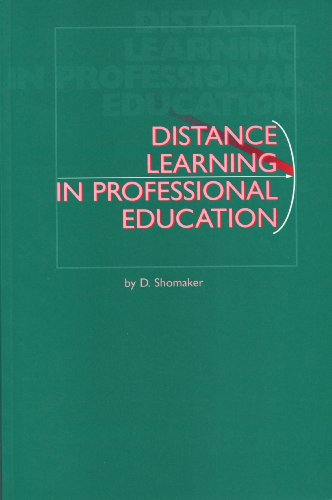 Distance Learning in Professional Education