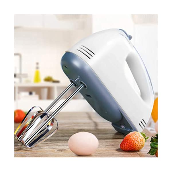 Frusta-Elettrica-da-Cucina-100W-Miscelatore-Manuale-Professionale-in-Acciaio-Inossidabile-con-4-Teste-di-Agitazione-7-Velocita-a-Basso-Rumore-Frullino-per-le-Uova-Elettrico-da-Cucina-Montalatte