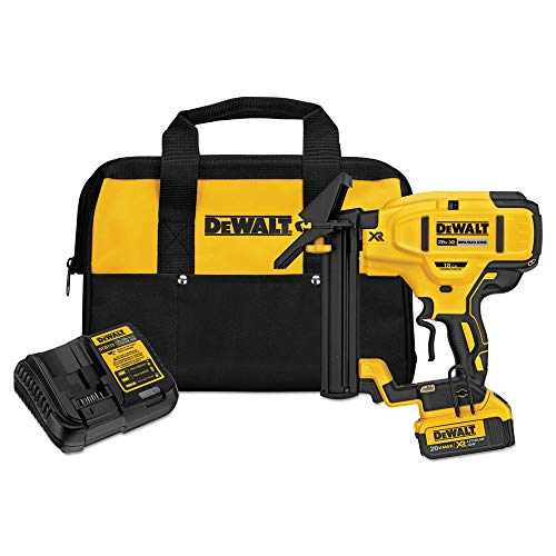 (DEWALT DCN682M1 20V 18Ga Floor Stapler Kit)