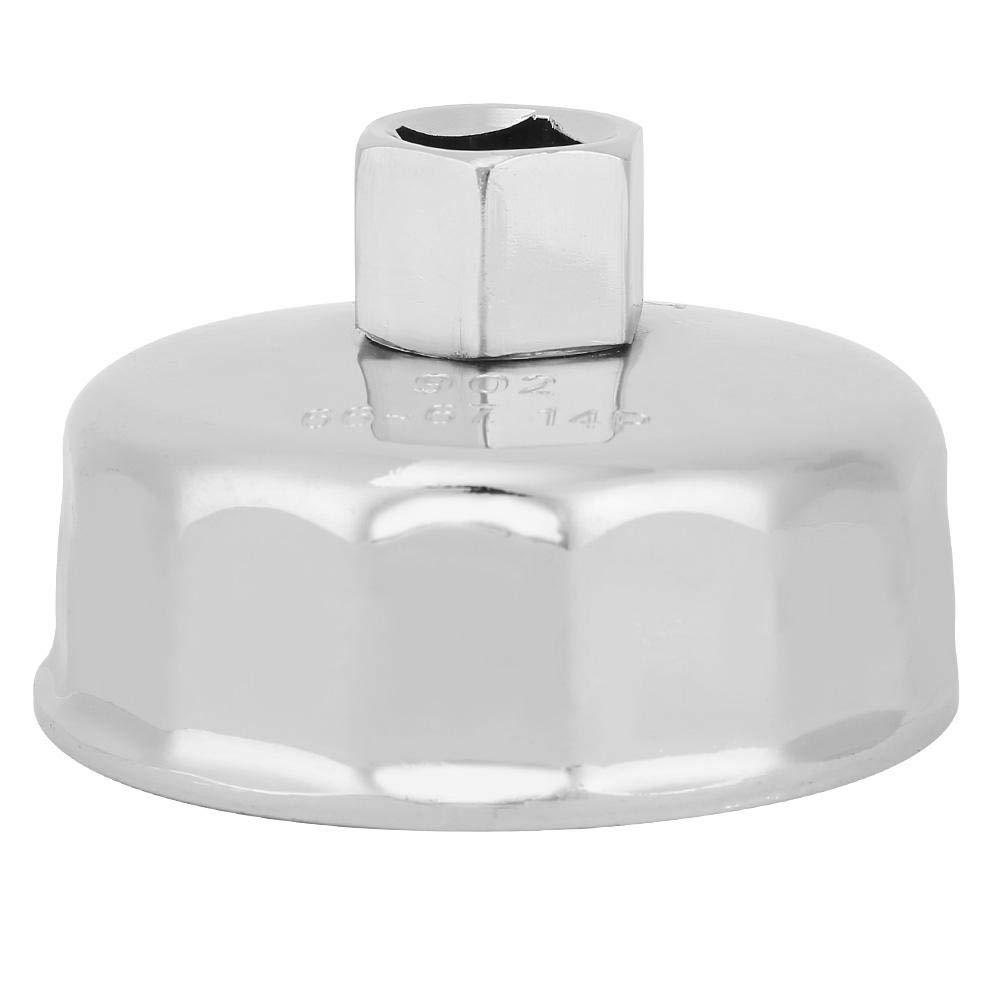 Llave del filtro de aceite, removedor de herramienta de alojamiento de tapa para camiones de automóviles 66-67mm: Amazon.es: Industria, empresas y ciencia
