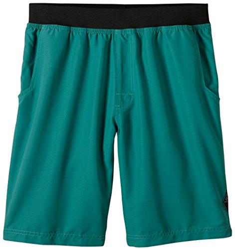 prAna Men's Mojo Shorts, Dusty Pine, Medium