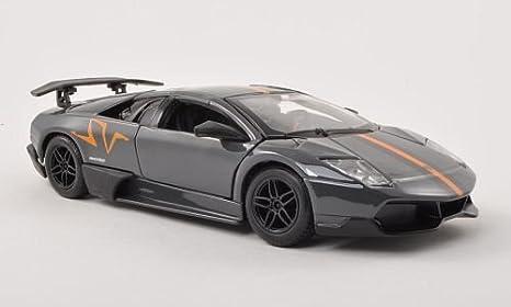 Amazon Com Lamborghini Murcielago Lp670 4 Sv Met Grey Orange