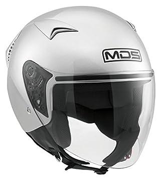 AGV Helmets Casco Jet G240 MDS E2205 Solid, color Plata, talla M