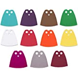 Custom Fabric Cape Variety Pack | Accessory for Small Toy Mini Figurines