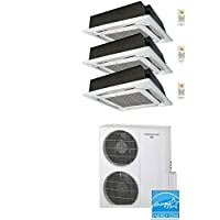 Thermocore T321Q-H263 18X3-Cass Ductless Mini Split, Large, White
