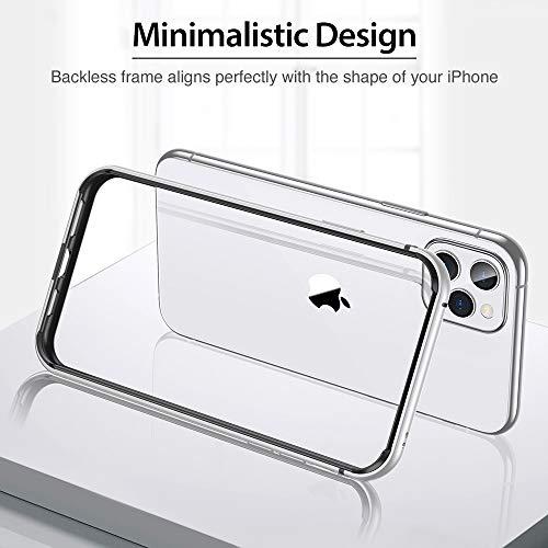 ESR Bumper Case Compatible for iPhone 11 Pro, Metal Frame Armor with Soft Inner Bumper [Zero Signal  - http://medicalbooks.filipinodoctors.org