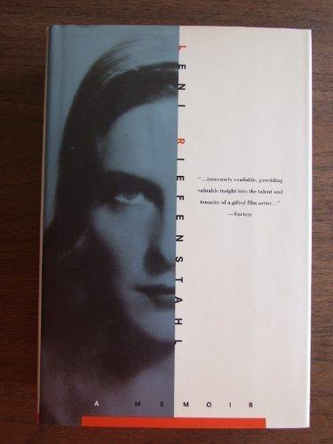Leni Riefenstahl: A Memoir by Leni Riefenstahl (1993-09-10)