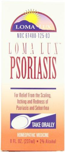 Loma Lux Homéopathie, psoriasis, 8 fl oz (237 ml)